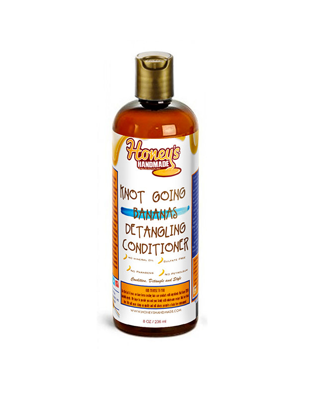 Honey's Handmade Knot Going Bananas Detangling Conditioner 8 oz