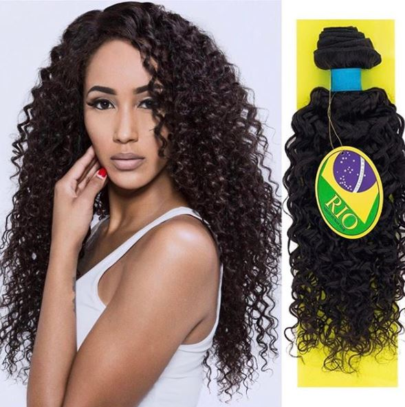 Rio - Bohemian 100% Human Hair Brazilian Virgin Weave Single Bundle Bohemian Hair Extensions
