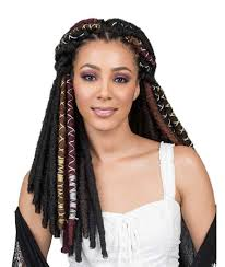 Bobbi Boss Crochet Braids – Bae Locs Gold 20""