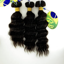 Load image into Gallery viewer, Rio - Malaysian Wave 100% Human Hair Brazilian Virgin Weave 3PC Bundles Malaysian Wave Hair Extensions