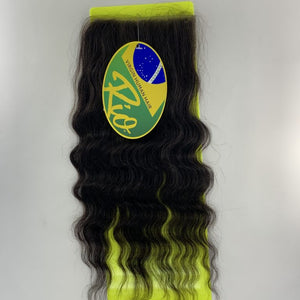 Rio - Malaysian Wave 100% Human Hair Brazilian Virgin 4x4 Lace Closure Malaysian Wave Closures