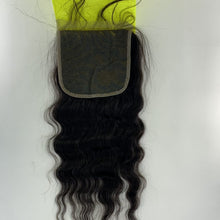 Load image into Gallery viewer, Rio - Malaysian Wave 100% Human Hair Brazilian Virgin 4x4 Lace Closure Malaysian Wave Closures