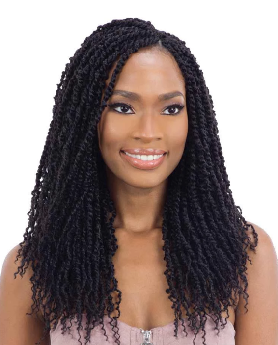 Mayde Beauty Crochet Braid 2x Passion Twist 14""