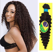 Load image into Gallery viewer, Rio - Pineapple Wave 100% Human Hair Brazilian Virgin Weave Single Bundle Pineapple Wave Hair Extensions