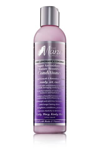 The Mane Choice Pink Lemonade & Coconut Super Antioxidant & Texture Beautifier Conditioner 8oz