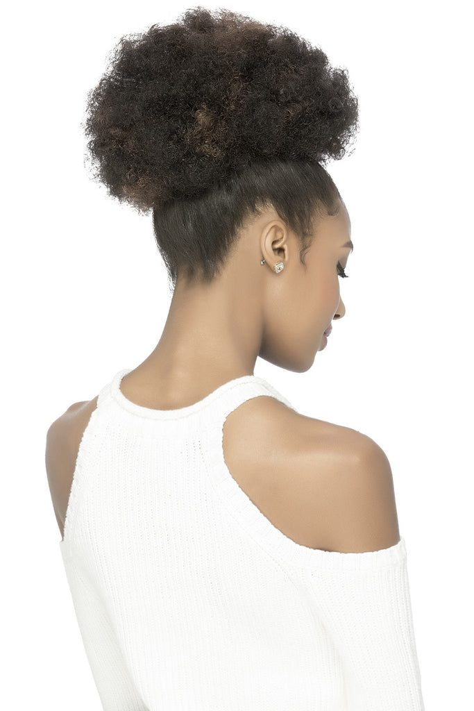 Vivica Fox Sassy & Classy Drawstring Ponytail Pocket Bun PB-PUFFY