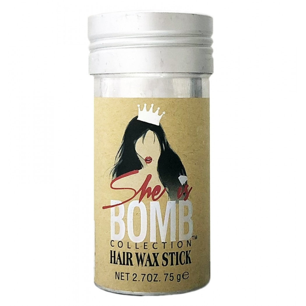 She Is Bomb Collection - Hair Wax Stick 2.7oz Styling Stick Texturing Wax Flexible Hold