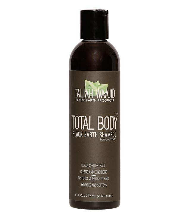 Taliah Waajid Total Body Black Earth Shampoo 8oz