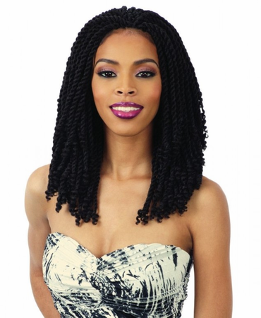 "FreeTress – 2X Kinky Twist 10"" Crochet Braids"