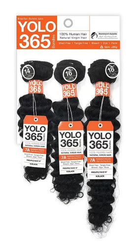 YOLO 365 PINEAPPLE WAVE Virgin Natural Hair Bundle