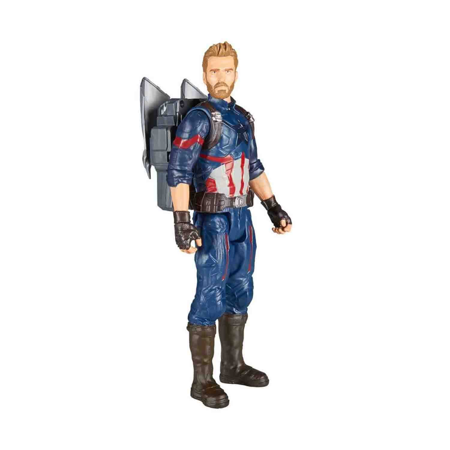Avengers Infinity War Titan Hero Power FX Captain America Figür