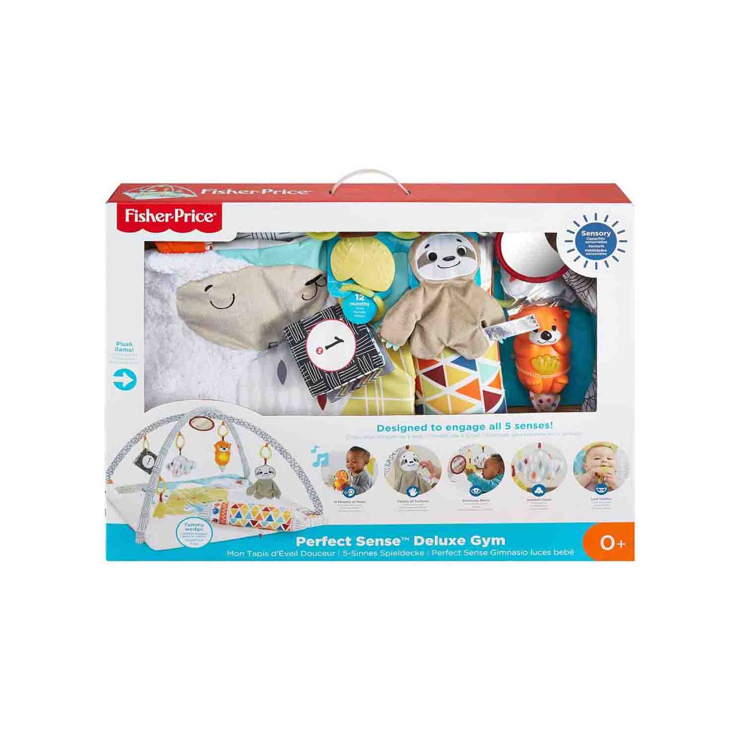 Fisher Price Perfect Sense Delüks Jimnastik Merkezi