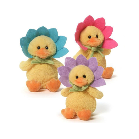 Gund Flower Duck Sound Toy Peluş Oyuncak