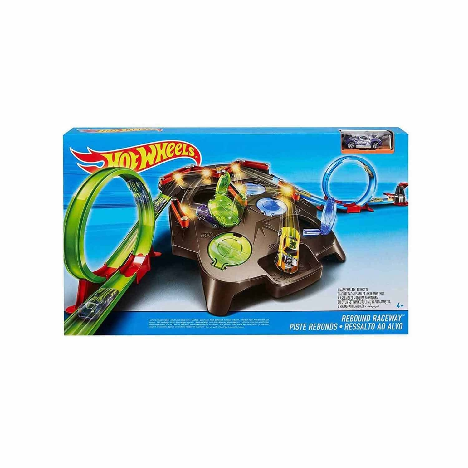 Hot Wheels Dev Çember Yarış Seti