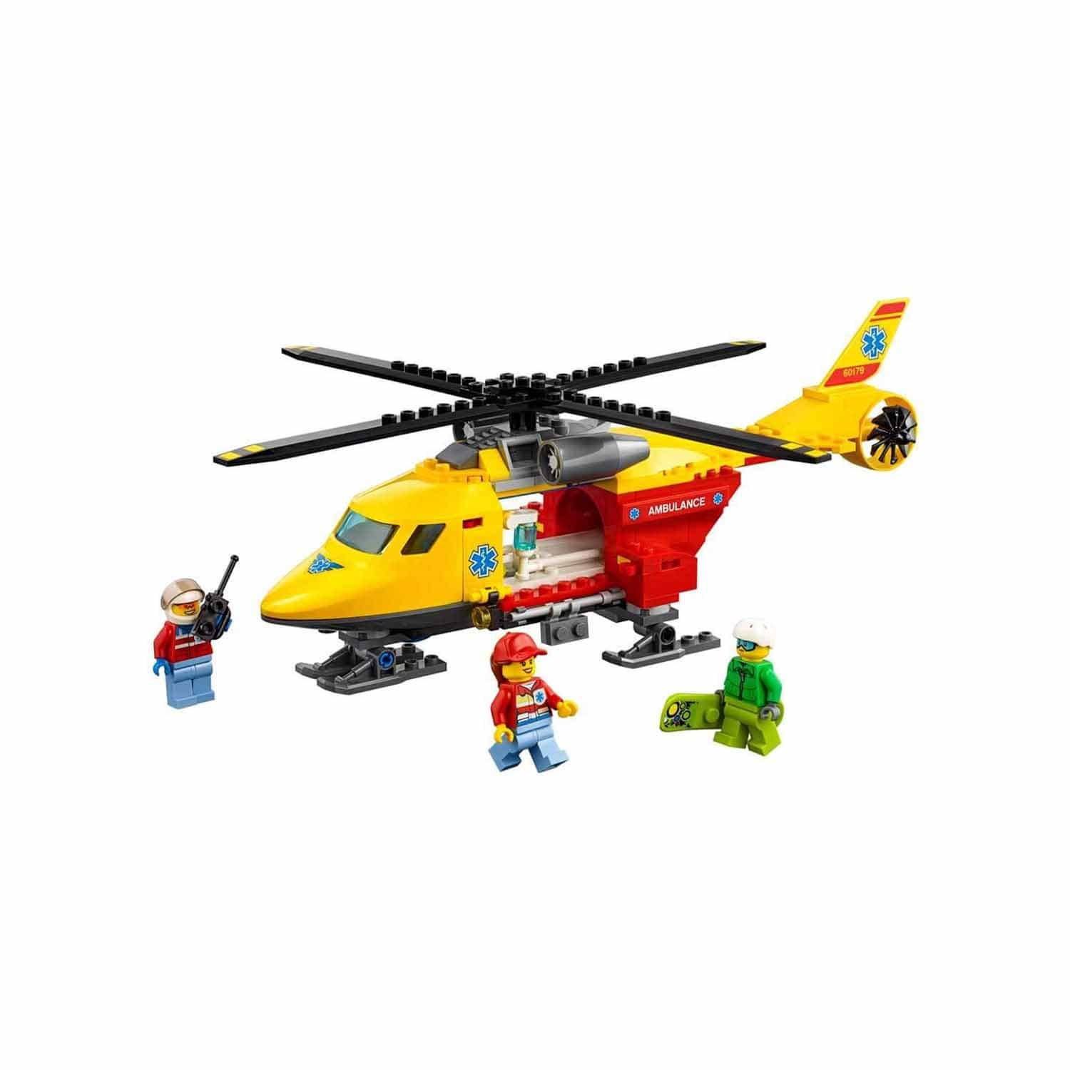 Lego City Ambulans Helikopter