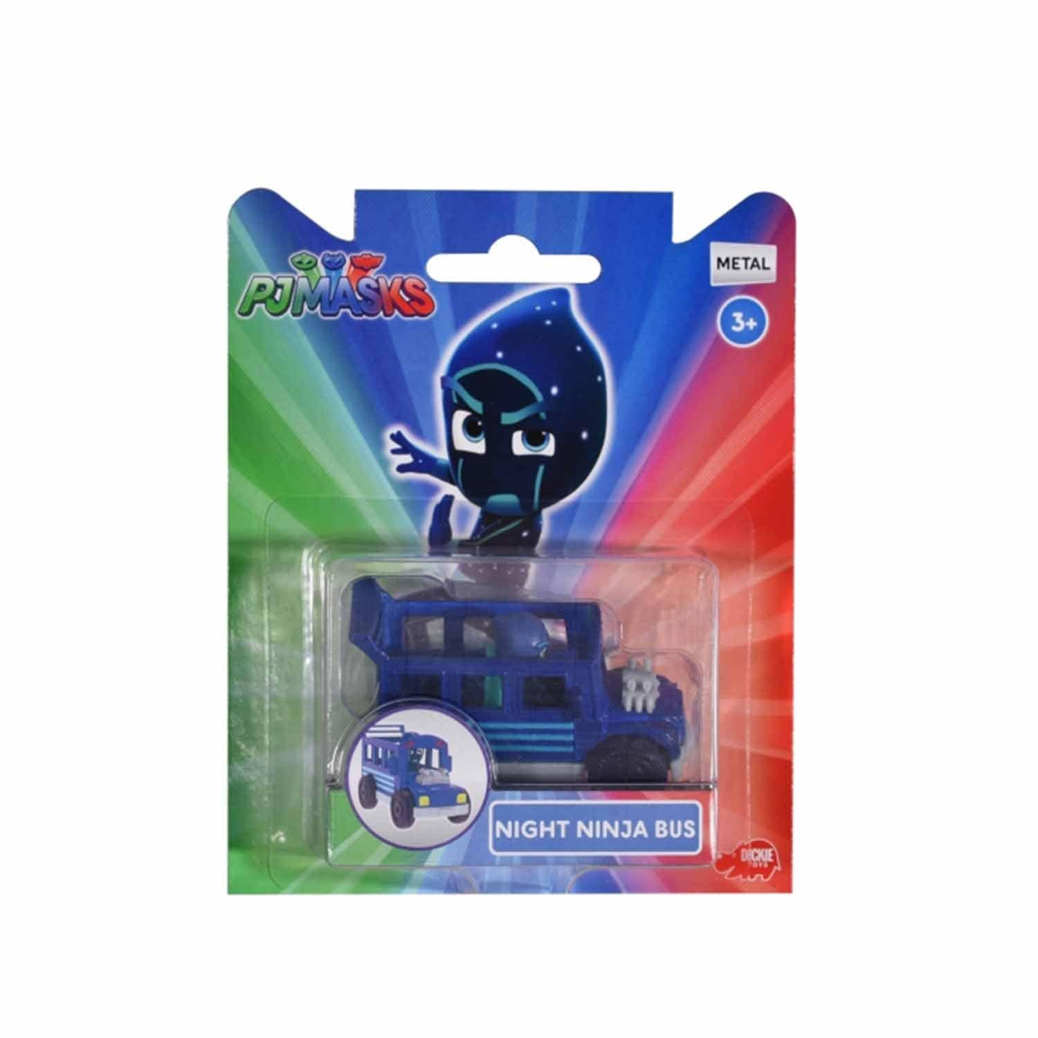 Dickie PJ Masks Single Pack Night Bus