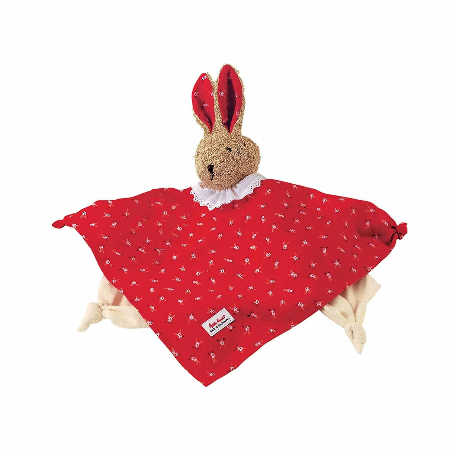 Kathe Kruse Classic Towel Doll Bunny Red
