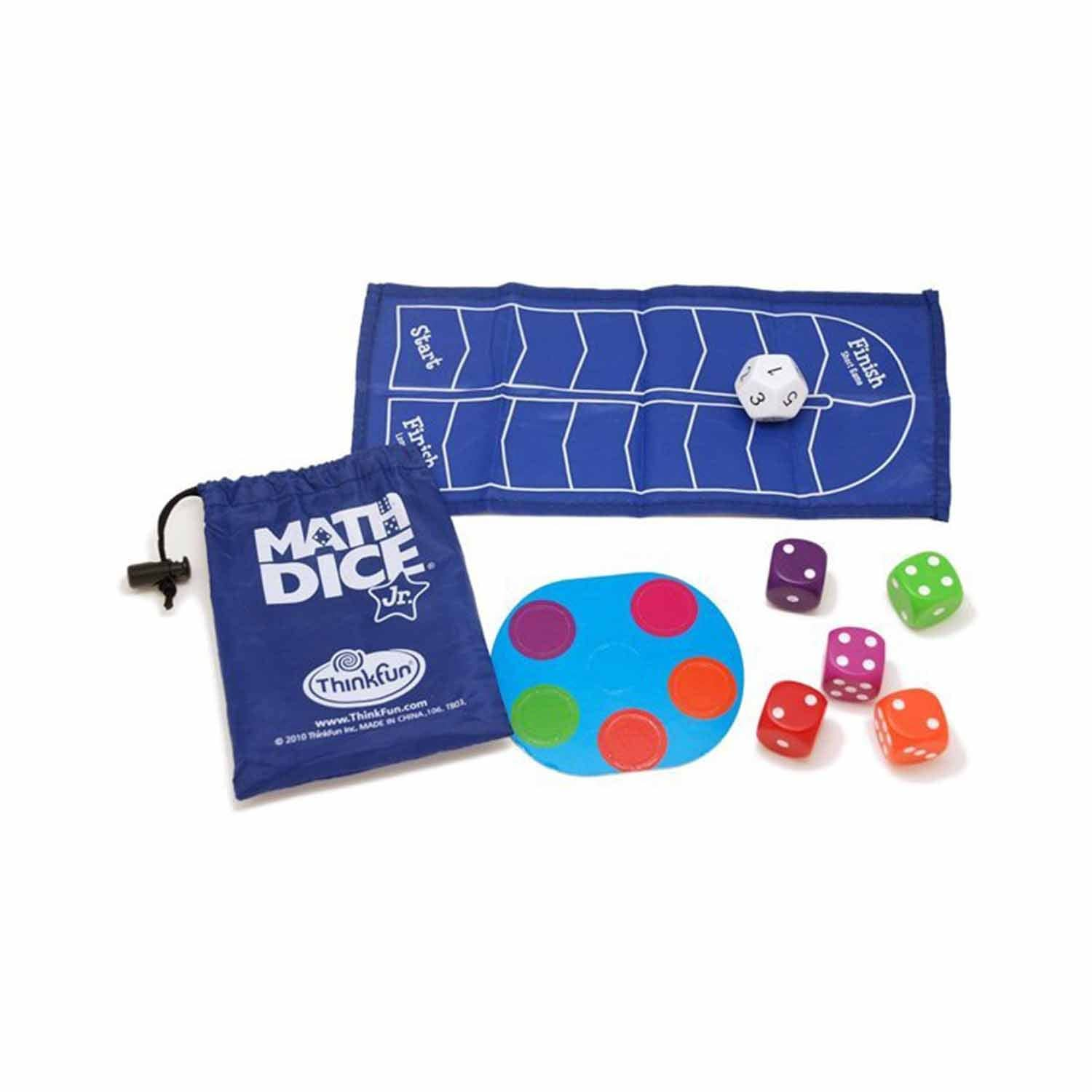 ThinkFun Matematik Zarları Math Dice Jr