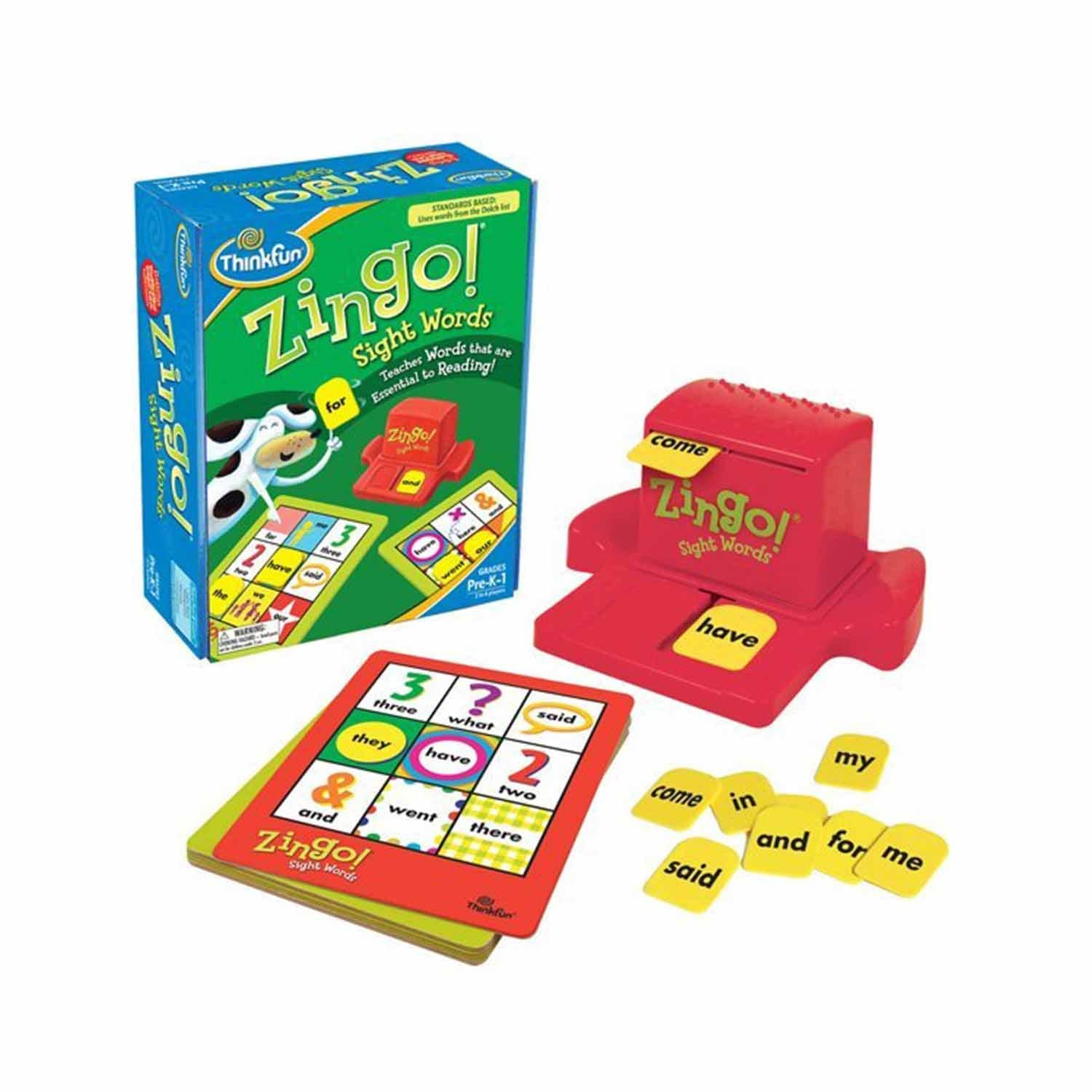 ThinkFun Zingo! İngilizce SightWords