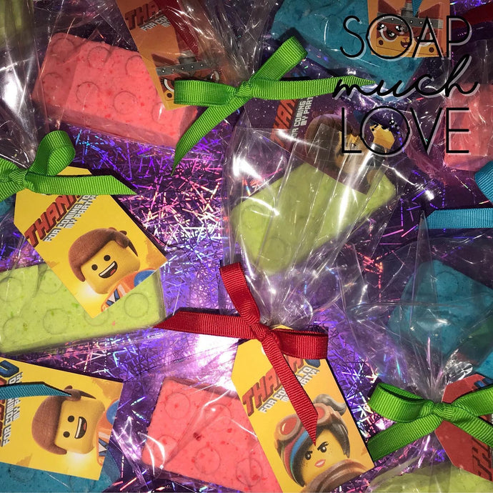 LEGO Bath Bomb Favours Set of 12