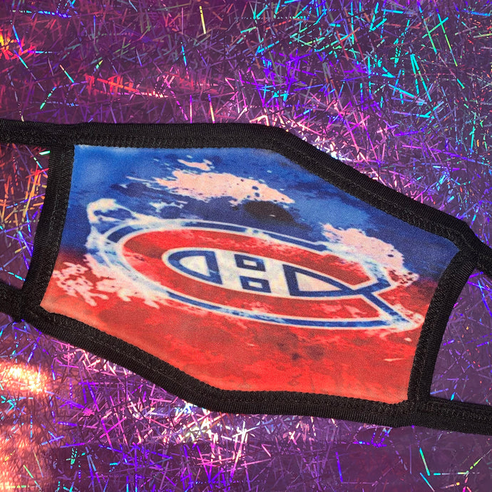 Montreal Canadians Face Mask
