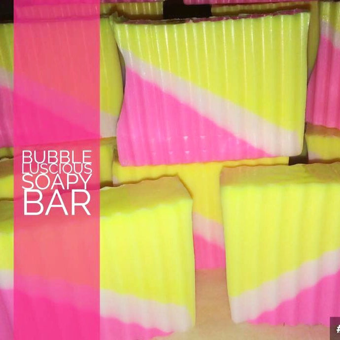Bubble Luscious Soapy Bar