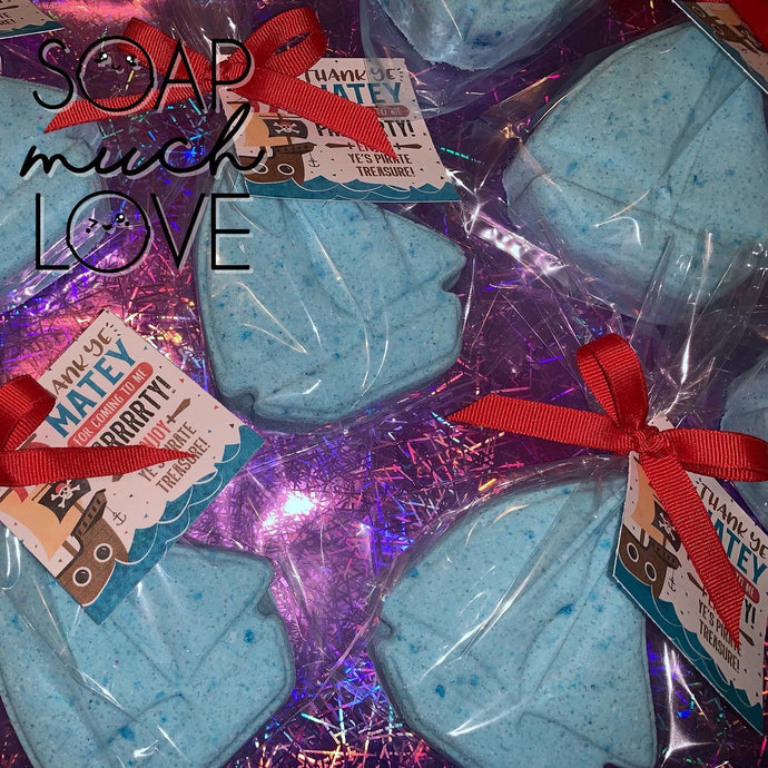 Pirate Bath Bomb Favours Set of 12