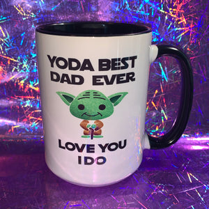 Yoda Best Dad Myg