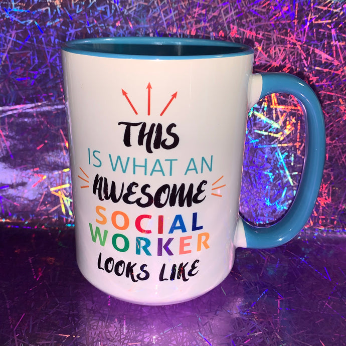 Awesome Social Worker Mug