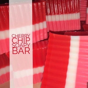 Cherry Chip Soapy Bar