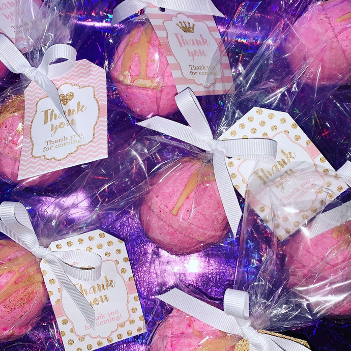 Baby Shower Bath Bomb Favours Set of 12