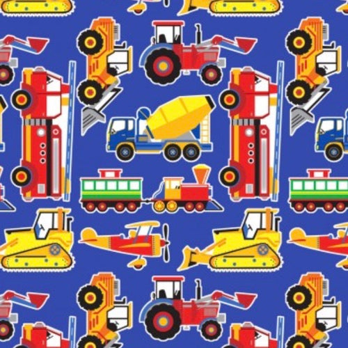 Build A Gift {Tractors Wrapping Paper}