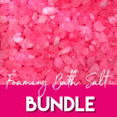 Foaming Bath Salt 2 for $25