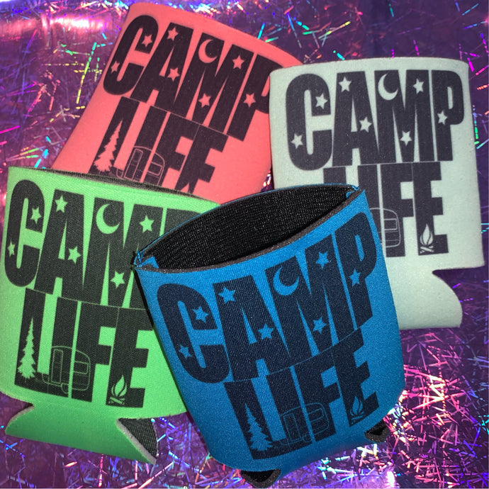 Can Koozie Camp Life