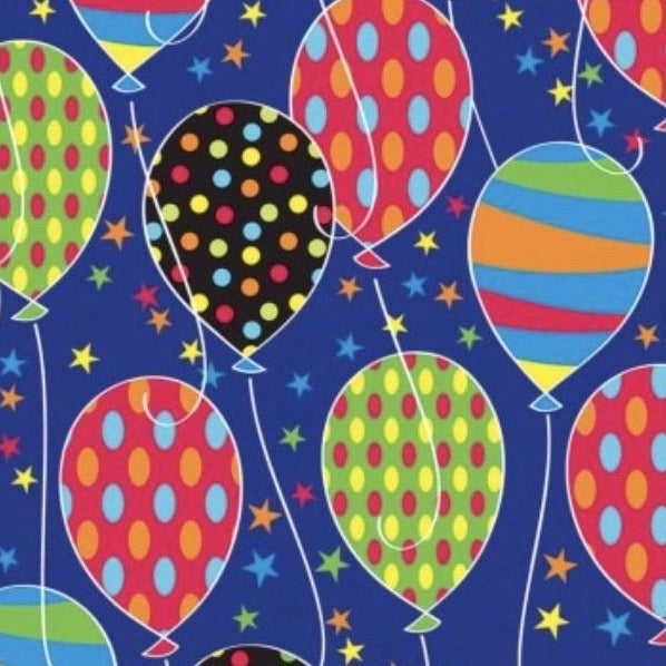 Build A Gift {Birthday Balloon Wrapping Paper}