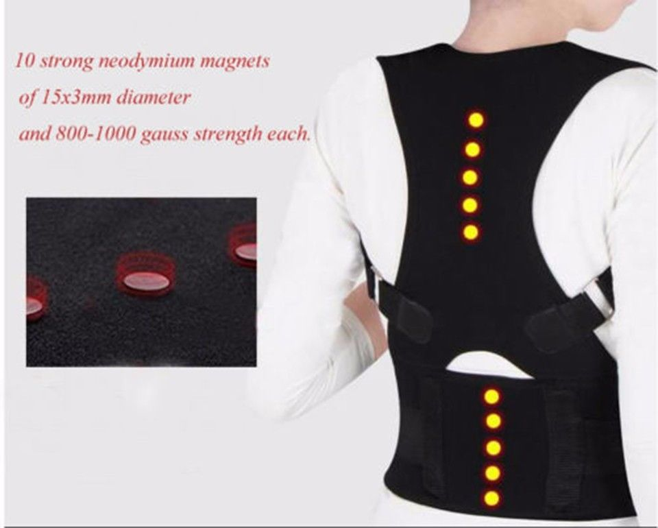 MTS-Magnetic lumbar belt at the back for men with lower back pain