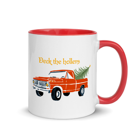 Deck the Hollers Coffee Mug