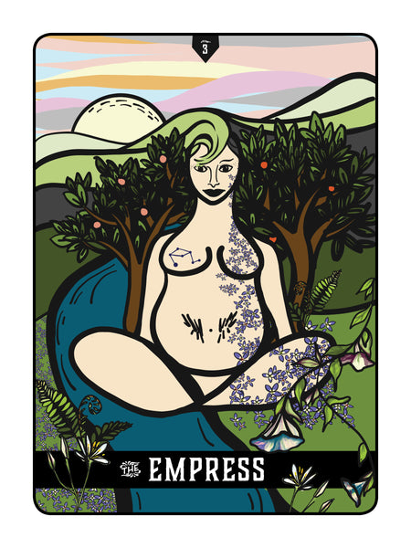 "Appalachian Tarot Card: ""The Empress"""