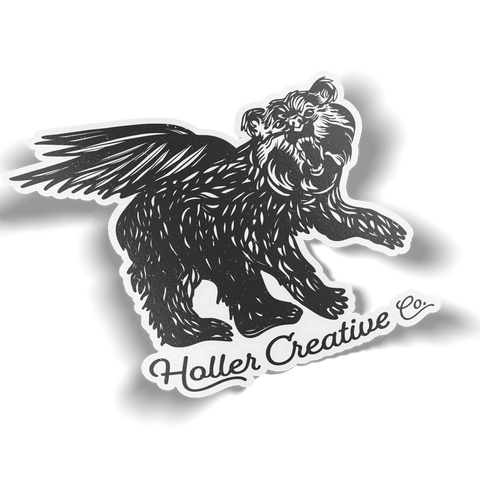 Holler Creative Company Sticker