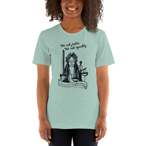 Lady Justice T-Shirt (Proceeds Benefit WV Women Attorneys)
