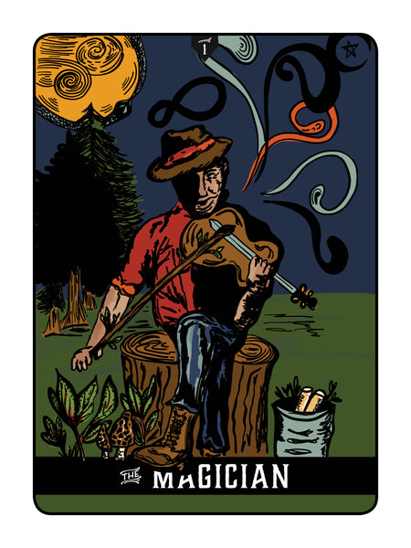 "Appalachian Tarot Cards: ""The Magician"""