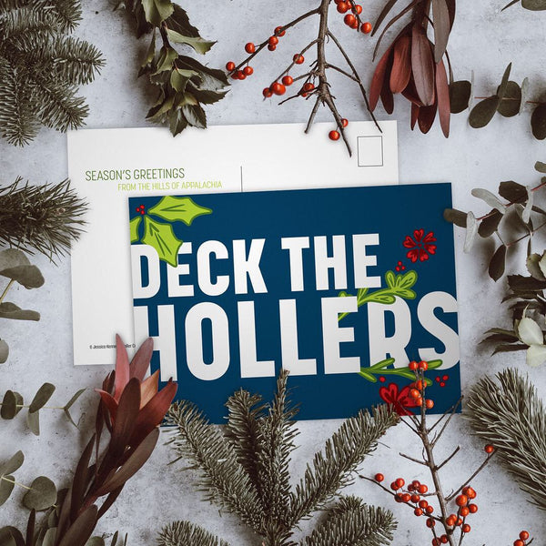 Deck the Hollers Holiday Cards (5 pack)
