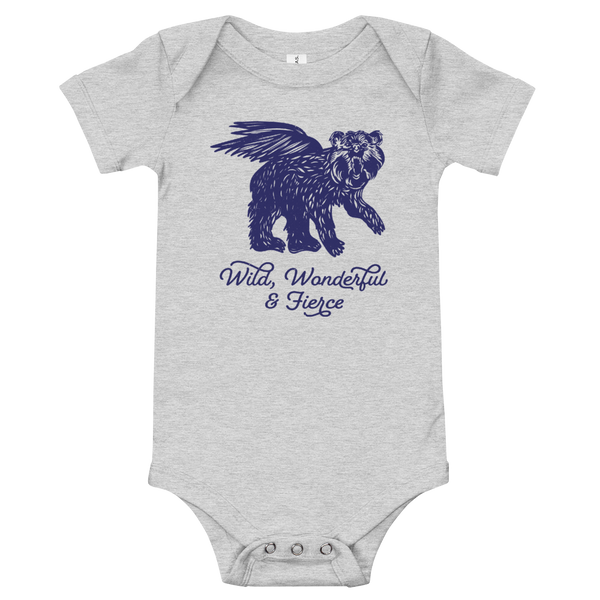 Wild, Wonderful and Fierce Onesie