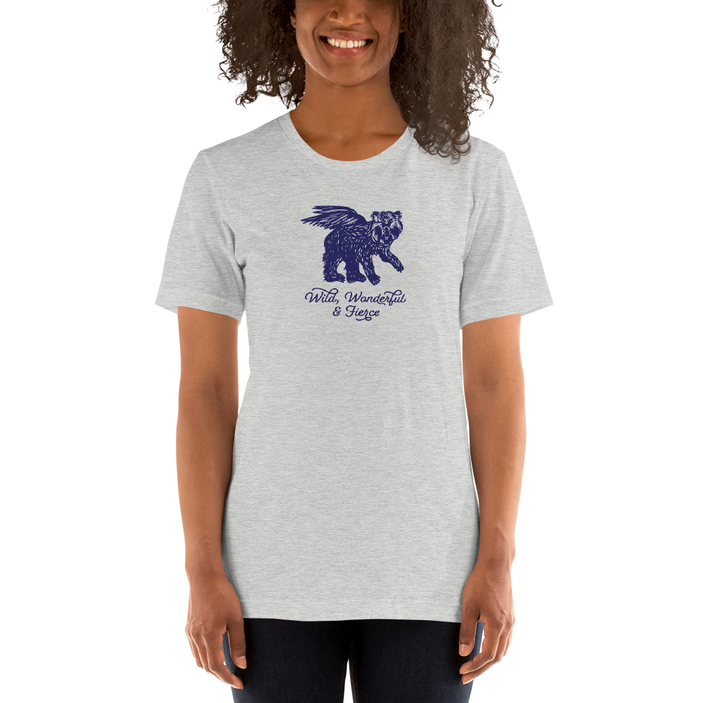Wild, Wonderful and Fierce Bella Canvas Short-Sleeve Unisex T-Shirt