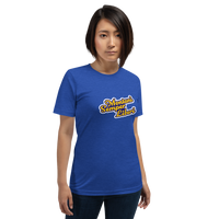 Blue and Gold Montani Semper Liberi Unisex T-Shirt