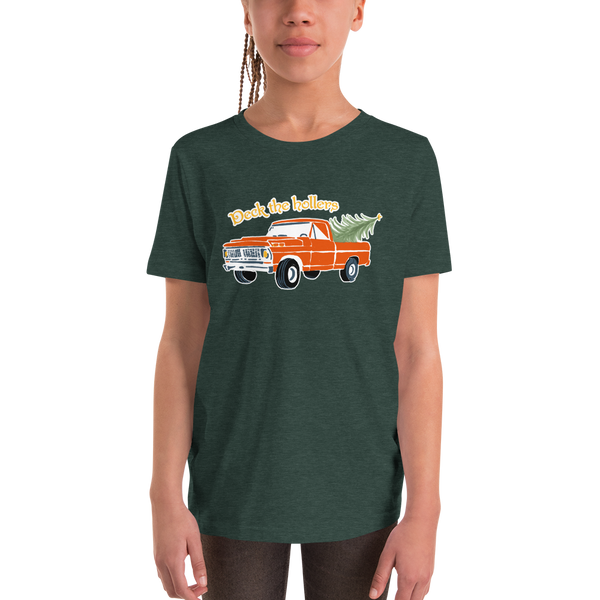 Deck the Hollers Youth Short Sleeve T-Shirt