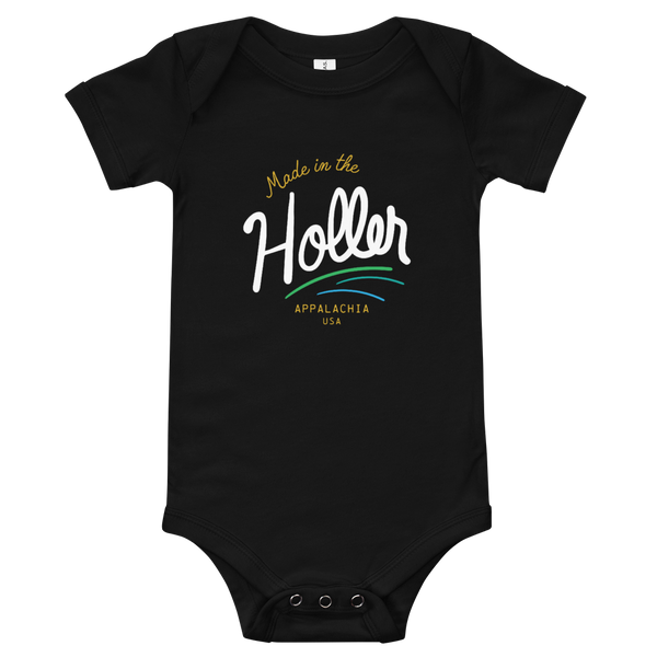 Made in the Holler Onesie