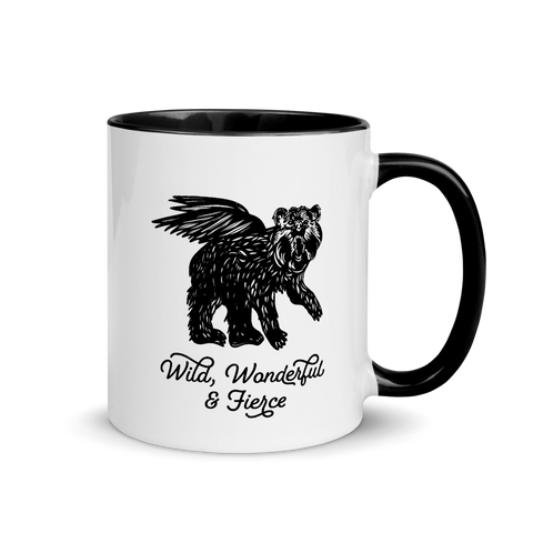 Wild, Wonderful and Fierce Ceramic Mug