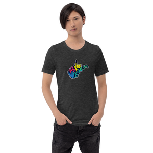 All Kinds Are Welcome Here Short-Sleeve Unisex T-Shirt (Proceeds Benefit Fairness WV)