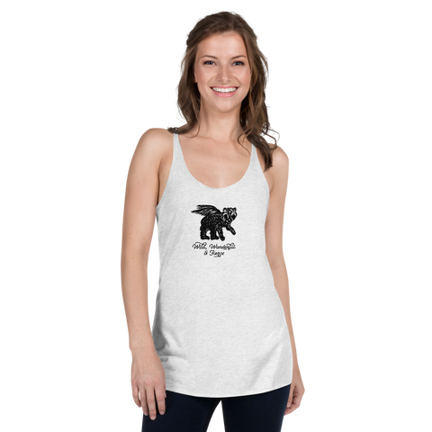 Wild, Wonderful and Fierce Women's Racerback Tank
